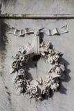 花卉花圈装饰品 库存图片