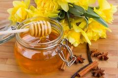 花卉蜂蜜? ? ? 库存图片