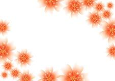 花卉装饰的请帖,婚礼,横幅,销售,小册子封面设计豪华明亮的颜色 皇族释放例证
