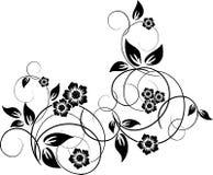 花卉设计要素 皇族释放例证
