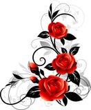 花卉设计 免版税库存照片