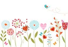 花卉设计 免版税库存图片