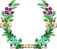 花卉诗歌选 库存例证