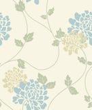花卉轻的模式无缝的葡萄酒 免版税库存图片