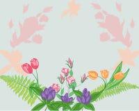 花卉问候 图库摄影