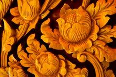 花卉雕刻 库存照片