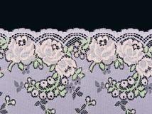 花卉鞋带模式粉红色 免版税库存图片