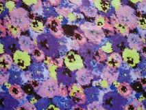 花卉织品纹理 免版税图库摄影