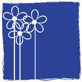 花卉grunge 图库摄影