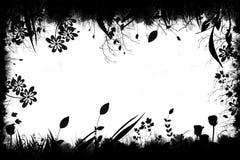 花卉grunge 免版税库存图片