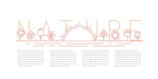 花和日出概述黄色传染媒介背景 Minimalistic设计 第二部分 库存图片