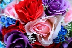 花和玫瑰 库存照片