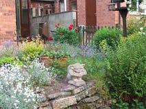 花和绿叶 库存图片