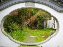 花园大门 免版税库存图片