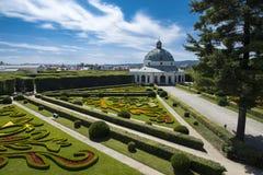 花园(联合国科教文组织)在Kromeriz 免版税库存图片