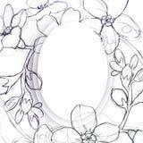 花图表元素 背景细部图花卉向量 向量例证