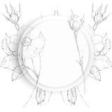 花图表元素 背景细部图花卉向量 库存例证