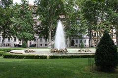 花在市的公园萨格勒布 库存图片