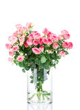 花在花瓶的 免版税库存图片