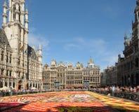 花地毯2012年 库存照片