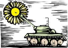 花坦克 免版税图库摄影
