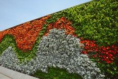 花墙壁在障壁,上海,中国的 库存照片