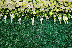花婚礼是weddingday的背景 免版税库存照片