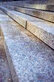 花岗岩台阶 免版税库存照片