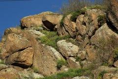 花岗岩岩石 图库摄影