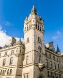 花岗岩市看法阿伯丁在苏格兰 免版税库存图片