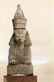 花岗岩彼得斯堡狮身人面象 库存照片
