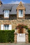 花岗岩房子红色 免版税图库摄影