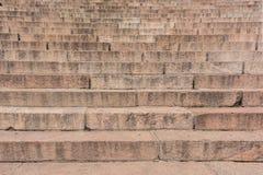 花岗岩楼梯纹理  免版税库存图片