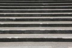 花岗岩楼梯背景 图库摄影