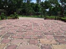 花岗岩正方形 免版税库存照片
