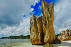 花岗岩海岛塞舌尔群岛 图库摄影
