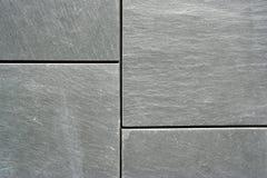 花岗岩灰色墙壁 免版税库存照片