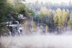 花岗岩猎物 库存照片