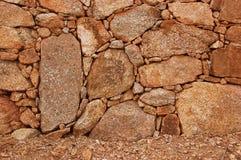 花岗岩的构成 库存照片