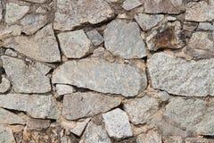花岗岩石墙背景 免版税库存照片