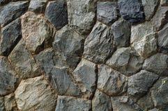 花岗岩石墙 库存图片