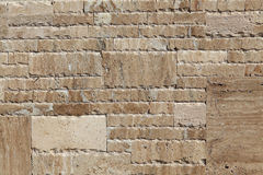 花岗岩石墙 免版税库存照片