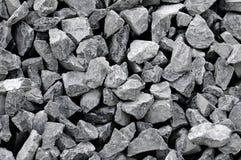 花岗岩石渣 免版税库存图片