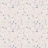 花岗岩石磨石子地地板纹理 抽象背景,无缝的模式 库存例证