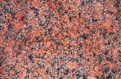 花岗岩红色墙壁 免版税库存照片