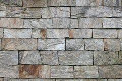 花岗岩老墙壁 库存照片