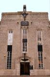 花岗岩艺术装饰大厦,阿伯丁,苏格兰 免版税库存照片