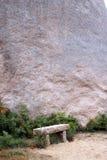 花岗岩长凳 图库摄影