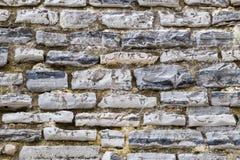 花岗岩防波堤纹理 库存图片