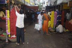 花市场。 免版税库存图片
